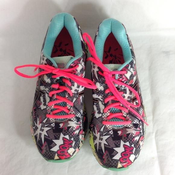 Asics Gel Nimbus 18 Comic Explosion Running Shoes